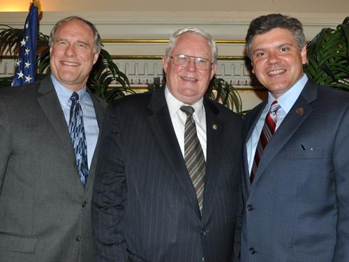 George Roller, Rep. Joseph R. Pitts, John B. Sorensen